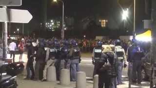 Incidents avant match Derby Lyon vs St étienne (Pas vu a la Tv By Underground Style