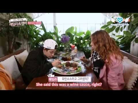 [AngelicHeartfxSubs] Ailee & Amber's One Fine Day E02 (eng)