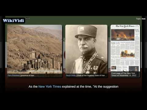 Iran - WikiVidi Documentary