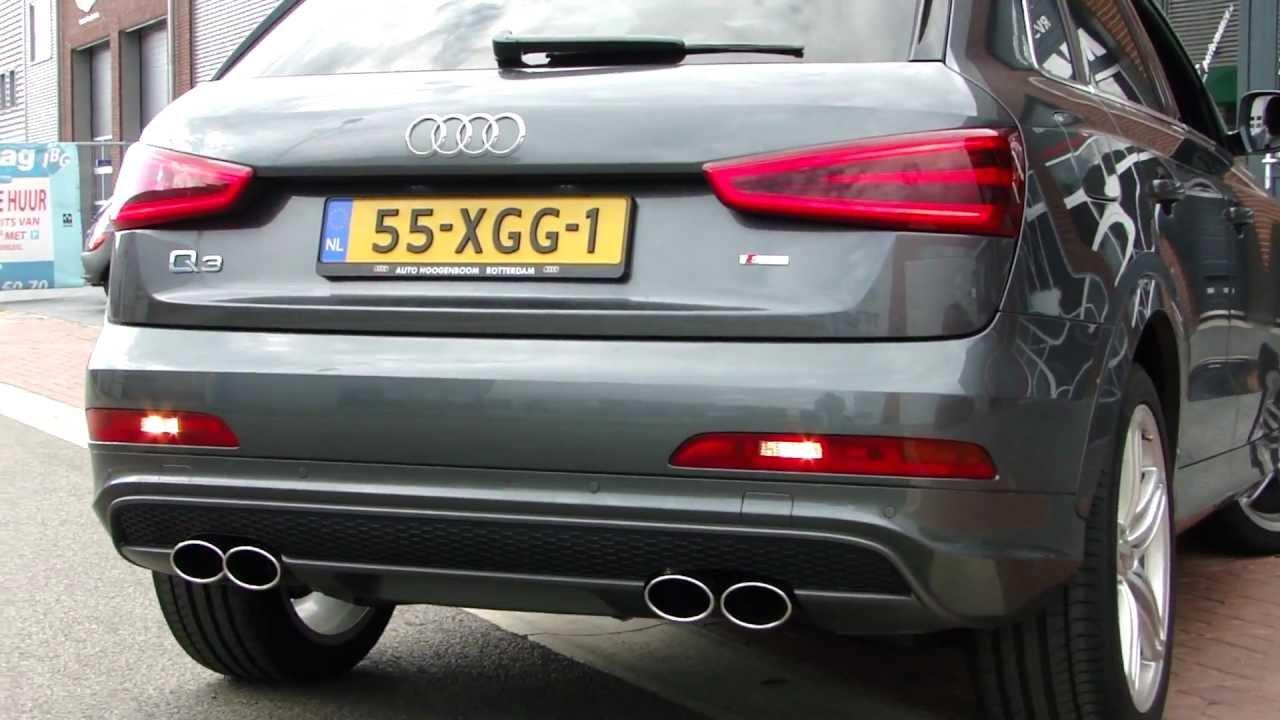 Audi Q3 Duplex Sport Exhaust System Great Sound By