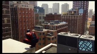 Spiderman Gameplay freeroam part 19