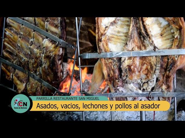 Parrilla San Miguel: Los preparativos del único asador sobre la calle 2