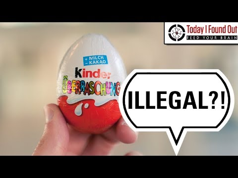 Thumbnail: Why are Kinder Eggs Illegal in the USA?