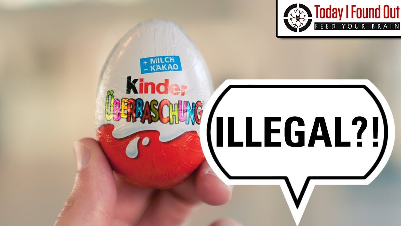 Why Are Kinder Eggs Illegal In The USA