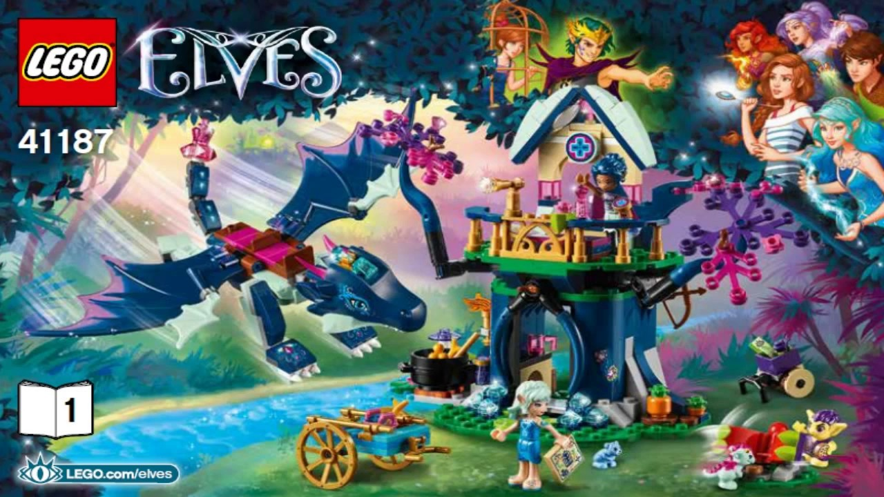 LEGO Elves 2016 RAGANA'S MAGIC SHADOW CASTLE 41180 - Лего Эльфы .