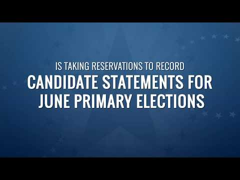 Candidate Statements for June Primary