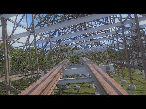 Walibi Untamed, Coaster POV Animation (Video)