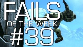 Fails of the Weak: Ep. 39 - Funny Halo 4 Bloopers and Screw Ups! | Rooster Teeth