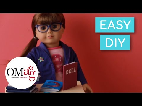 Mini Books For Your Doll | Doll DIY | American Girl