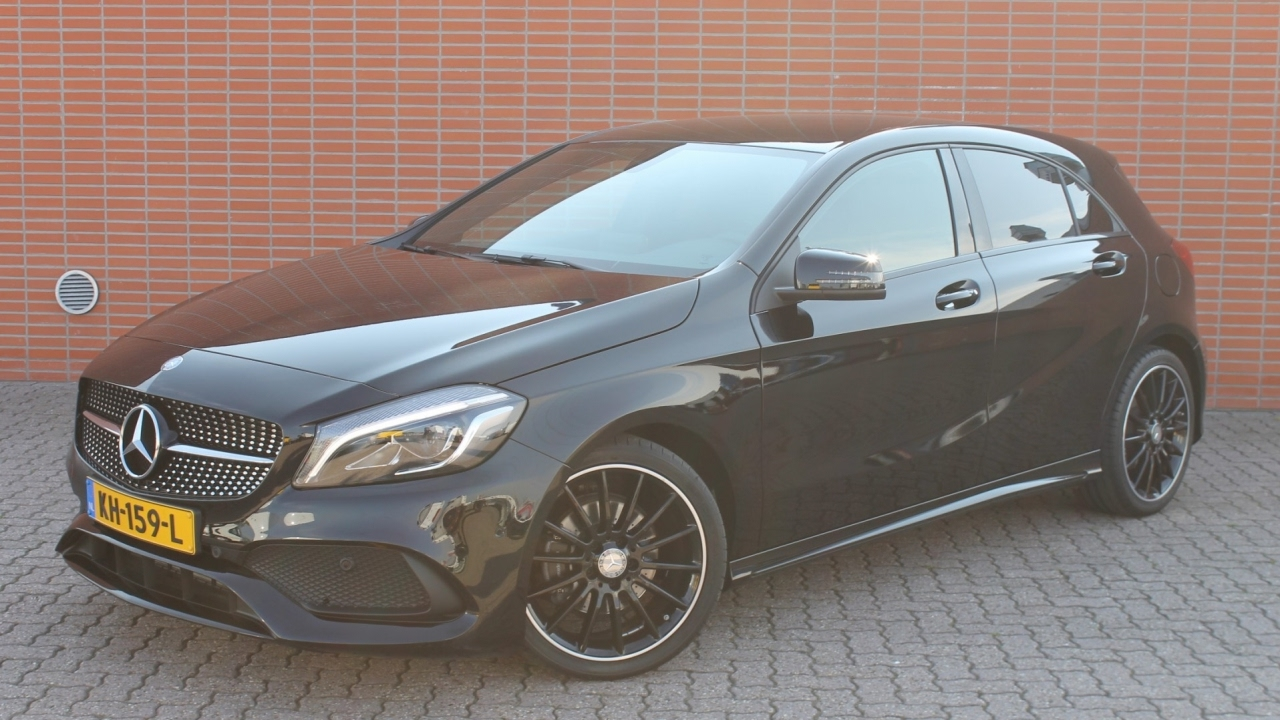 mercedes benz a klasse a 160 amg night edition plus youtube