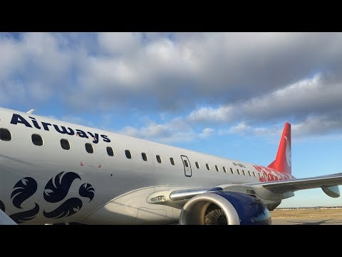 Buta Airways   Embraer ERJ 190AR   Tripreport: Baku (GYD) to Tbilisi (TBS)
