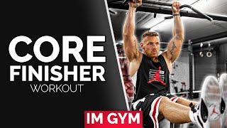 CORE / BAUCH Trainingsplan für Fitnessstudio (Muskelaufbau)