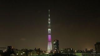 2013年5月22日 東京スカイツリー開業一周年イベントとして行われた東京...