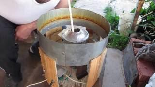 видео Аппарат для изготовления сладкой ваты своими руками
