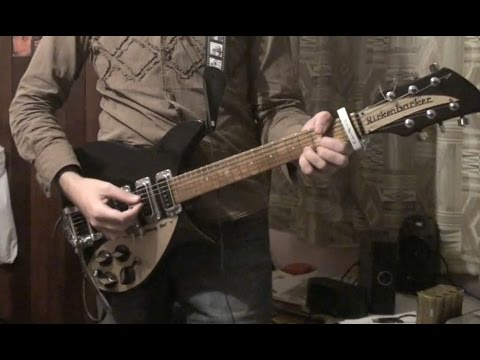 John Lennon - Woman (cover) with Rickenbacker 320
