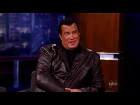 Steven Seagal on the Jimmy Kimmel Dec 10 2009
