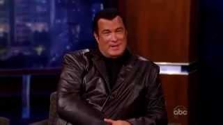 Steven Seagal on the Jimmy Kimmel Dec 10 2009