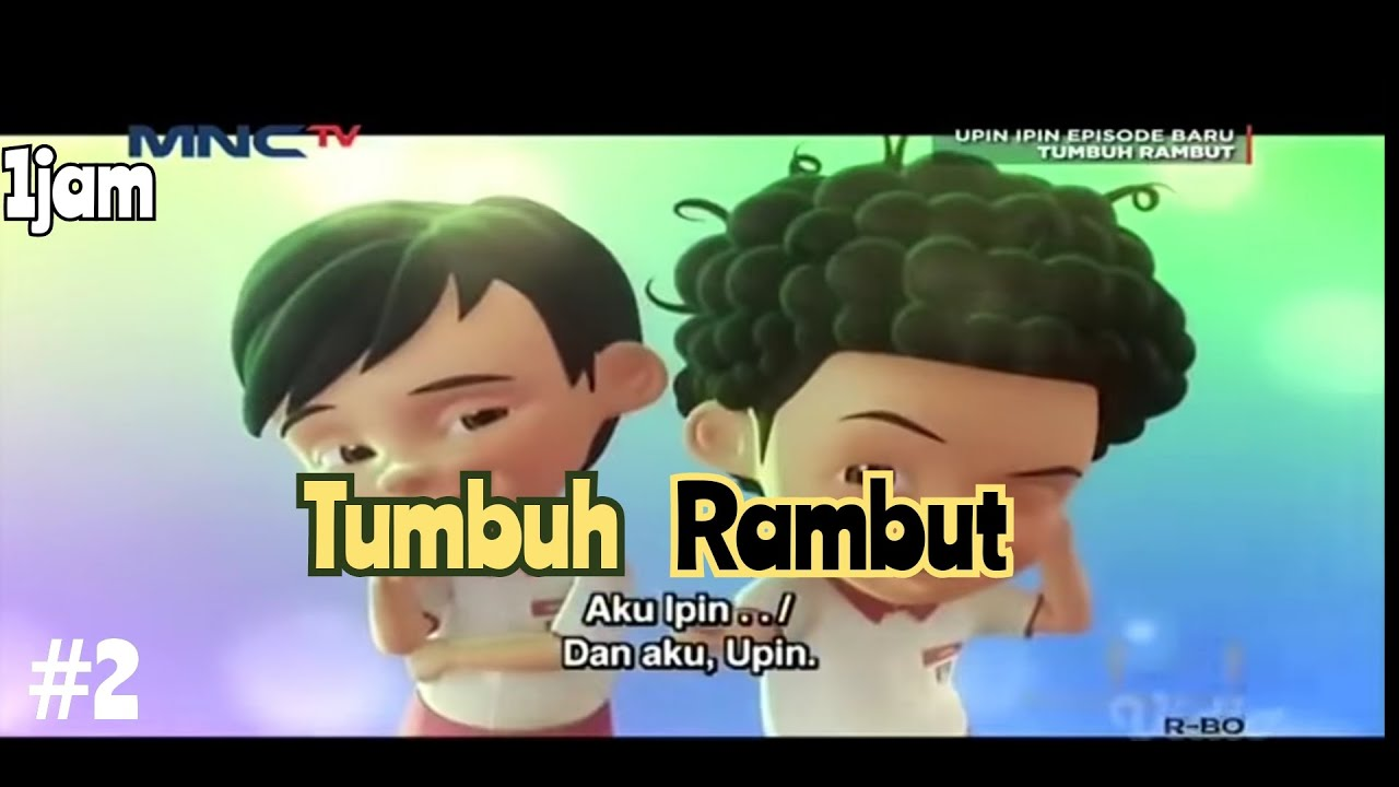 Upin & Ipin Musim 14 - RAMBUT TUMBUH - Full Episode Upin Ipin 2021 #2
