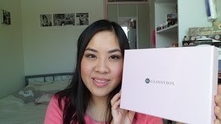 Glossybox Unboxing January 2014 Thumbnail