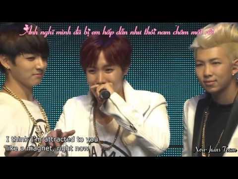 [VIETSUB] [NJ Team] BTS - MISS RIGHT [LİVE] DVD THE RED BULLET