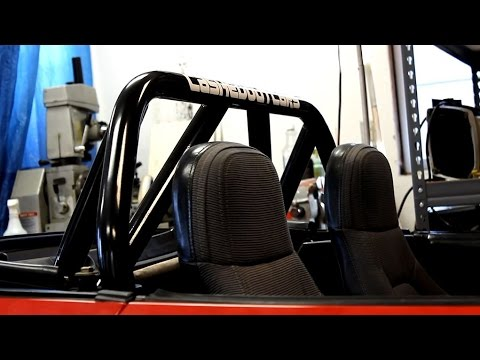 How To Install a Miata Roll Bar