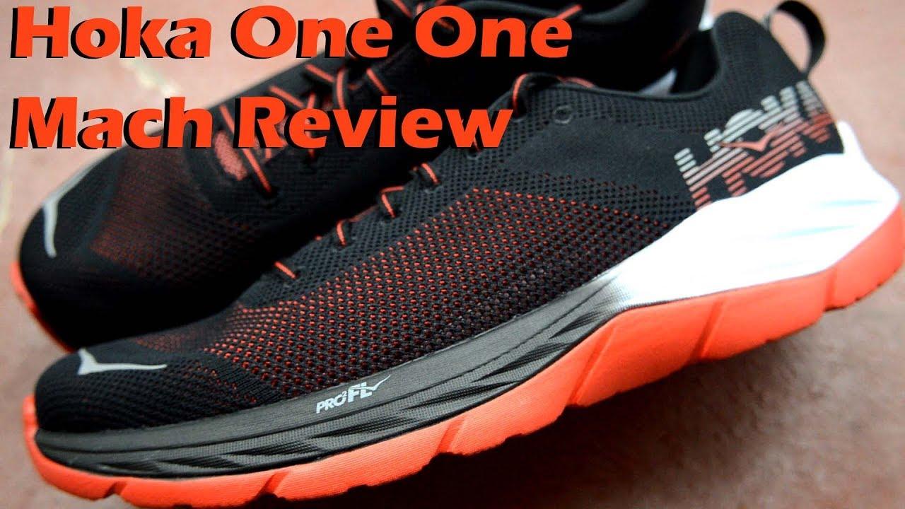 Hoka One One Mach Review - YouTube