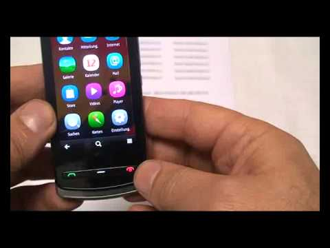 Nokia 700 Entsperren