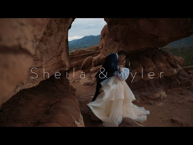 A Beautiful Garden Of The Gods Engagement Video
