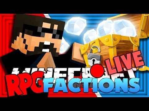 Minecraft: RPG Factions | DIAMOND CHEST & WAR!! [5]