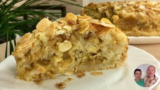 Старинный рецепт яблочного пирога! Пирог за 5 минут + время на выпечку!