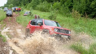 Взял Jeep Renagade Trailhawk - выжил после бездорожья!