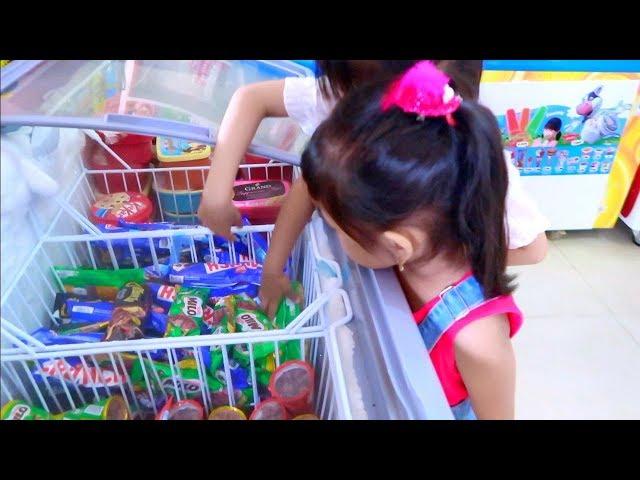 [Icip icip] Es Krim Milo Popsicle dari Malaysia Beli Es Krim Saat Buka Puasa   Baby Eat Ice Cream