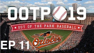 Out of the Park Baseball (OOTP) 19: Baltimore Orioles Franchise EP 11: FIRST YEAR PLAYER DRAFT [S2]