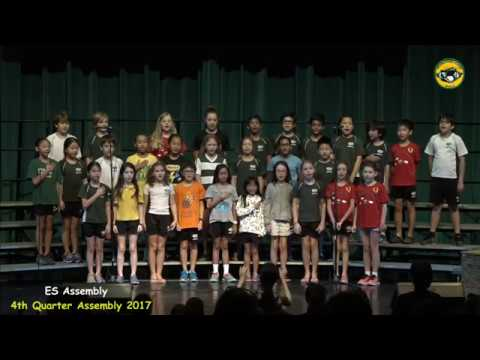 ISM ES End of Year Assembly  06-02-2017