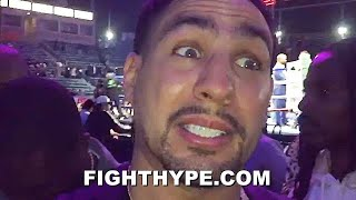 DANNY GARCIA REACTS TO ANDY RUIZ BEATING CHRIS ARREOLA AFTER GETTING DROPPED