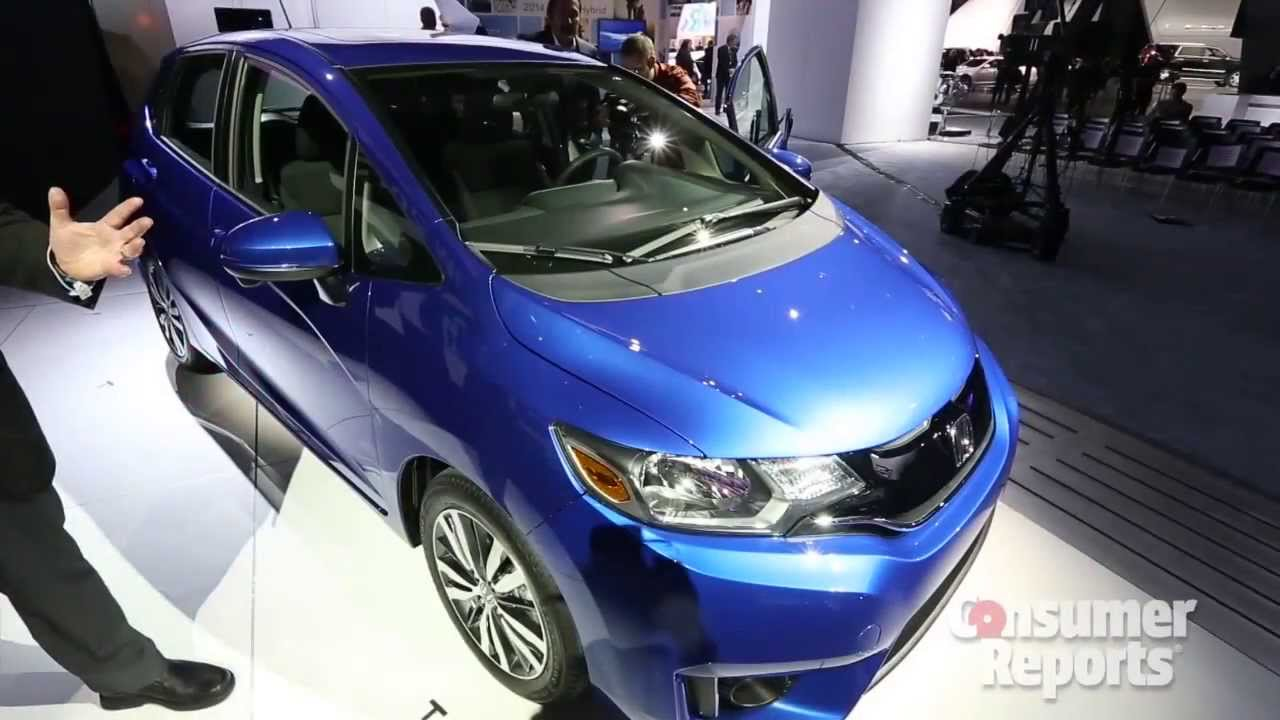 2015 Honda Fit At Detroit Auto Show | Consumer Reports