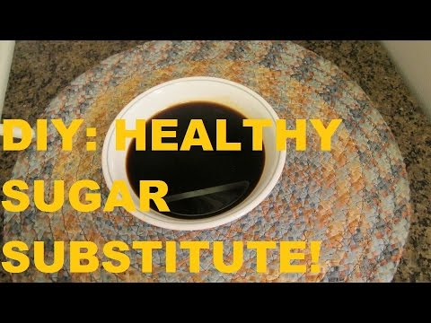 DIY: HEALTHY SUGAR SUBSTITUTE YOU CAN ADD TO ANYTHING!