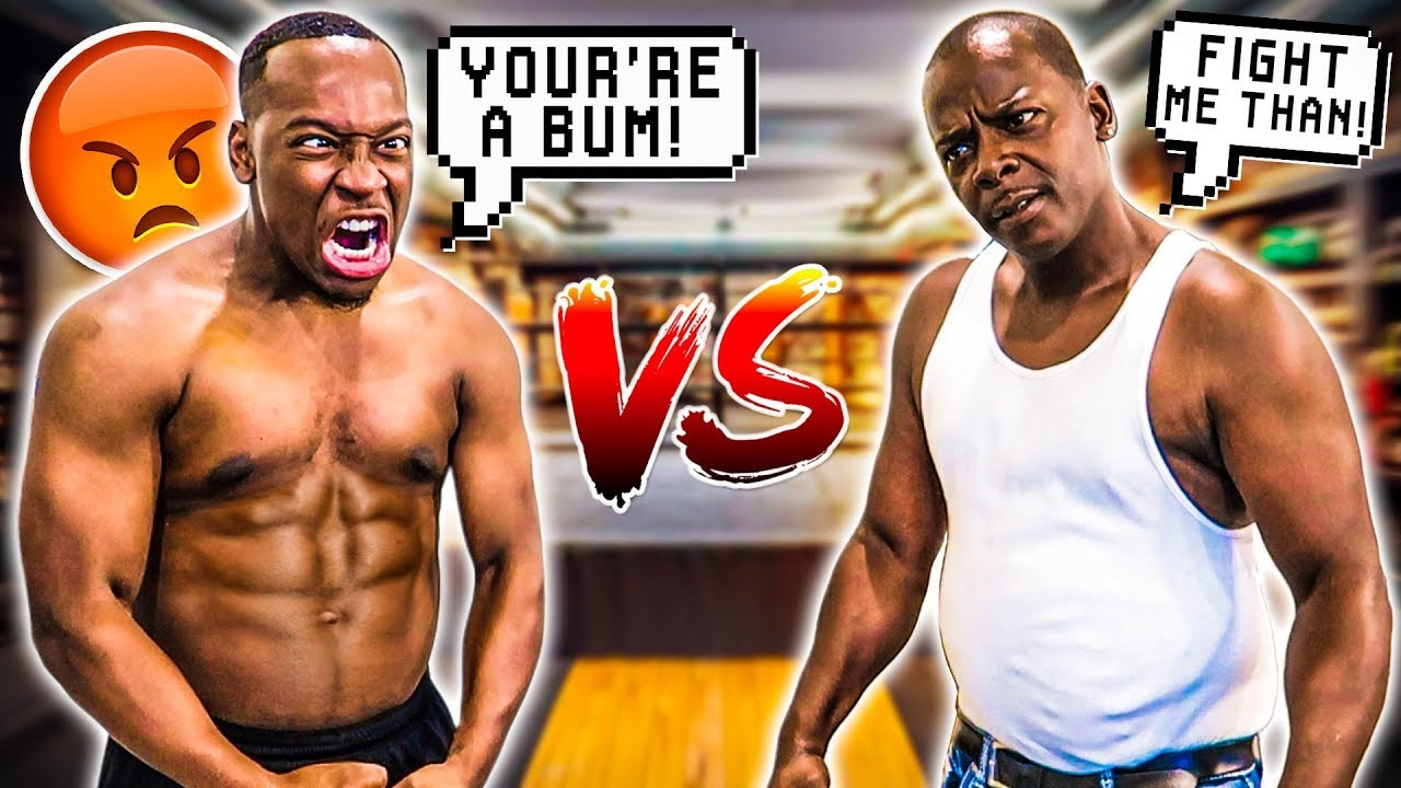 1 VS 1 AGAINST TRASH TALKER!! LOSER HAS TO SHAVE THEIR HEAD