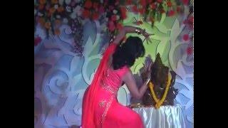 Dance performance byReshma on sangeet ceremony