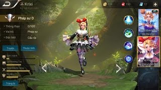Trang phục mới Krixi Xứ sở thần tiên - Lên 900k sub nào mn =)))