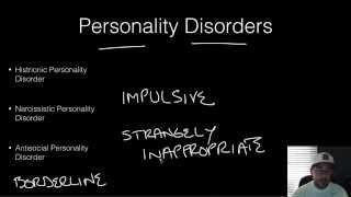 AP Psychology - Abnormal Psych - Part 6 - Personality Disorders