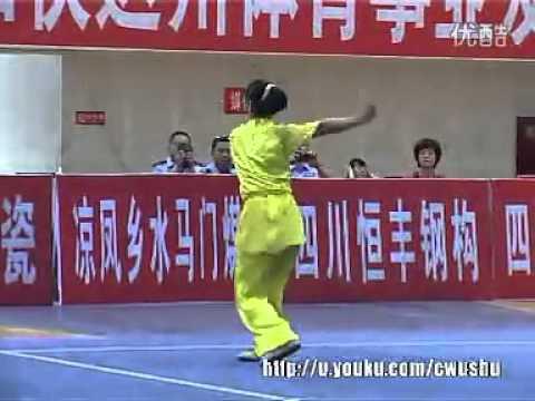 Wushu 2011 - Liu Xia (Chang Quan)