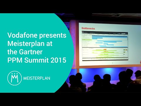 Vodafone Presents Meisterplan At The Gartner Ppm Summit