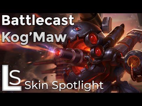 Battlecast KogMaw - Skin Spotlight - Battlecast Collection - League of Legends - Patch 10.8.1