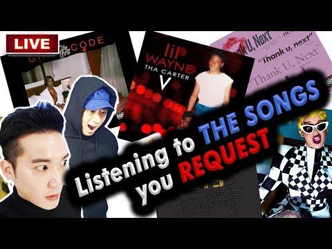 [LIVE] which American hiphop songs do KOREAN WEIRDOS listen to???????????