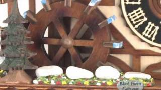 8 Day Wood Chopper Cuckoo Clock