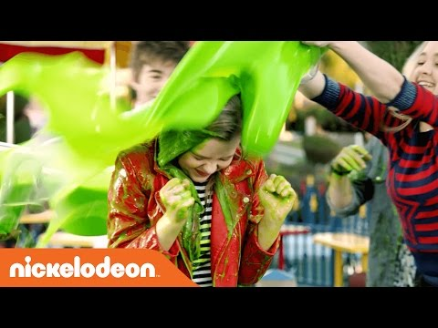 Jace Norman, JoJo Siwa, & More Slime & Get Slimed in the Slime'n Says Challenge | KCA 2017 | Nick thumbnail