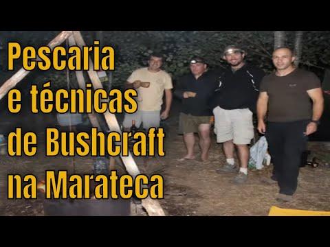 Pescaria na Marateca e técnicas de bushcraft!