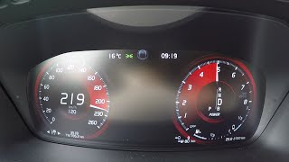 2016 Volvo XC90 T8 Twin Engine 0-100 km/h   0-62 mph Tachovideo Beschleunigung Acceleration