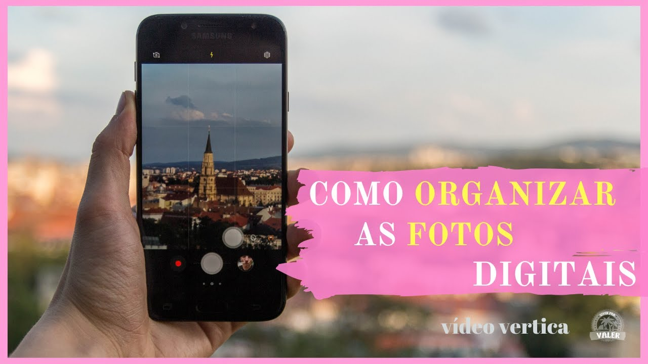 Como Manter as Fotos Organizadas